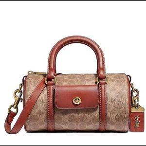 COACH WOMENS BARREL BAG f54396